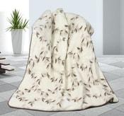 Vlněná deka DUO 155x200cm svlačec - australské merino