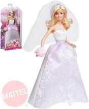 Panenka Barbie nevěsta ve svatebních šatech