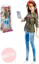 Panenka Barbie Coty herní vývojářka set s doplňky