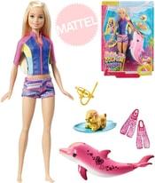 MATTEL Panenka Barbie a magický delfín mění barvu set s doplňky