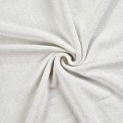 Froté prostěradlo jednolůžko 90x200cm bílé