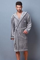 Pánský župan Alex 7105 grey
