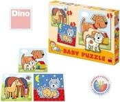Puzzle BABY Zvířátka 12 dílků
