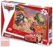 Puzzle Cars akční motiv 66 dílků
