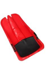 Superjet plastový bob 05-A2032/1 - červený