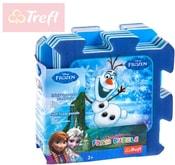 PUZZLE Soft pěnové 32x32cm Frozen (Ledové Království) set 8 dílků