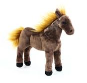 Plyšový kůň hnědý, 29 cm