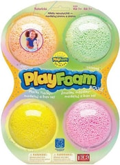 PlayFoam modelína pěnová boule třpytivá dětská modelína set 4 ks