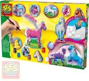 Koně odlévání a malování kreativní set se sádrou a doplňky