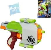 NERF Pistole s pouzdrem a šipkami Zombie Zbraň Set PLAST