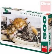 Puzzle Kotě v botě 47x33cm 500 dílků v krabici
