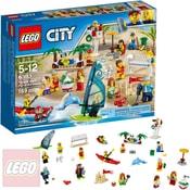 CITY Sada postav - Zábava na pláži 60153 STAVEBNICE