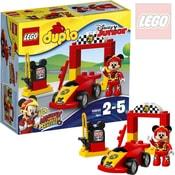 DUPLO Mickeyho závodní auto 10843 STAVEBNICE