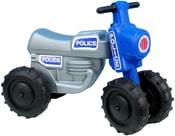 Odrážedlo / odstrkovadlo CROSS Policie plastová motorka