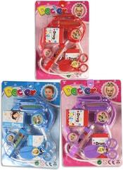 Souprava doktorská dětské lékařské potřeby na kartě 3 barvy plast