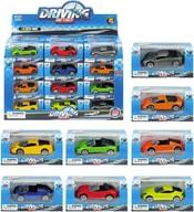 Autíčko kovové volná kola 1:64 sportovní vůz 8 barev v krabičce