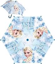 Deštník dětský Frozen Elsa modrý manuální skládací (Ledové Království)