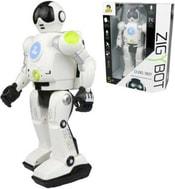 Robot Zigy interaktivní 33cm na dálkové ovládání hlasem 17 příkazů zpívá vypráví