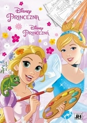 Omalovánka A4 Disney Princezny