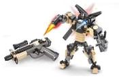 Stavebnice AUSINI 2v1 robot/pistole 276 dílů