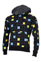 Pánská mikina Squares black