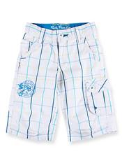 Chlapecké 3/4 kalhoty 106880 bílá