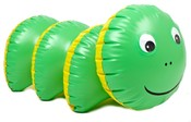 Housenka zelená nafukovací hračka 95 x 43 cm