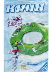 Kruh plavací FERDA MRAVENEC 60 cm do vody NAFUKOVACÍ KOLO do vody