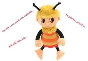 Příběhy Včelích medvídků plyšový Čmelda 26 cm zpívající