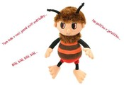 Příběhy Včelích medvídků plyšový Brumda 26 cm zpívající