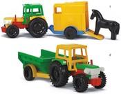 WADER Traktor s vlečkami 35001