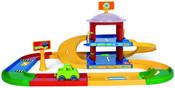 WADER Garáž KID CARS 3D s dráhou 3,4 m