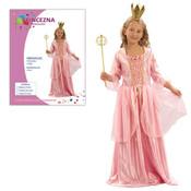 Dětský kostým PRINCEZNA RŮŽOVÁ vel.S (110-120 cm)