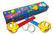 VISTA Magic ball 7708 foukací hra s míčkem