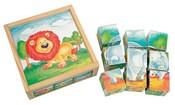 BINOKostky (kubus) divoká zvířata 9 ks