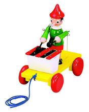 Tahací Pinocchio xylofon