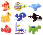 Hračky nafukovací 9 druhů
