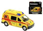 Ambulance auto kovové 14 cm PB se zvukem a světlem