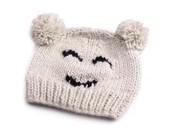 Čepice dětská pletená SMILE (1 ks)
