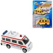 Auto Ambulance 7cm kovové