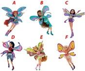 Panenka WinX Believix Fairy s křídly 28 cm