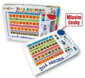 Tabulka naučná abeceda 2 barvy