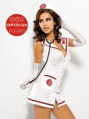 Sexy kostým Emergency dress + st. XXL