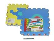 Měkké bloky puzzle na zem DOPRAVA 10 ks