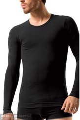 Pánské tričko LS 01120 T-SHIRT LONG SLEEVE black