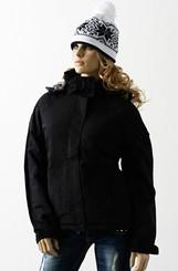 Zimní bunda černá lam001bl