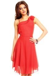 Červené společenské šaty hs-sa262re