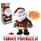 Santa Claus chodí a tancuje 30 cm