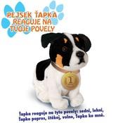 Plyšový pes Jack Russel interaktivní