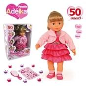 Panenka Adélka 40 cm 50 funkcí